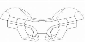 spardax art iron man helmet mark viii depron With iron man helmet template download