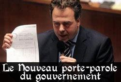 porte parole du gouvernement luc chatel le nouveau porte parole du gouvernement
