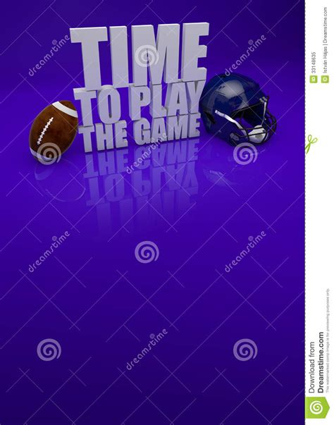 how to get to play in the background android time to play american football 3d text royalty free