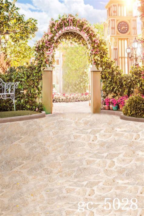 floor wedding background gc  scenic