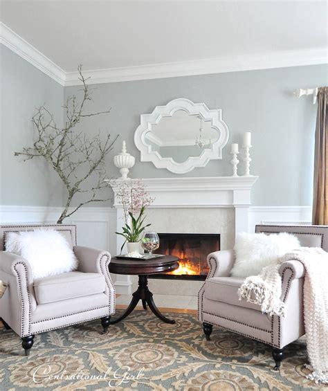 Kates Winter Living Room
