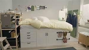 Schränke Für Kleine Schlafzimmer : ikea quadratmeterchallenge winziges schlafzimmer f r zwei youtube ~ Bigdaddyawards.com Haus und Dekorationen