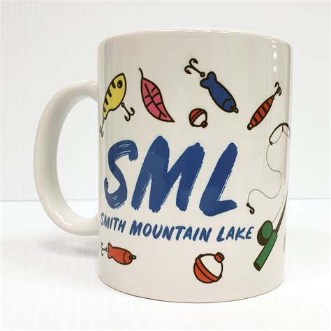 Today, smith mountain lake, besides being a source of electricity and drinking water, is a prime recreational resource it still operates today. Smith Mountain Lake Fishing Lure Mug   Print N Paper