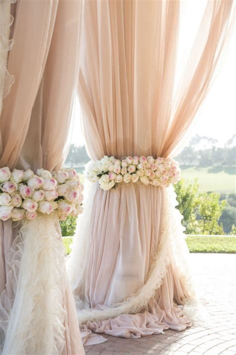 Decor Drapes - drapery ideas to stun your wedding guests onewed