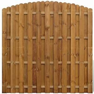 Panneau De Cloture En Bois : la boutique en ligne panneau de cl ture arqu en bois avec ~ Premium-room.com Idées de Décoration