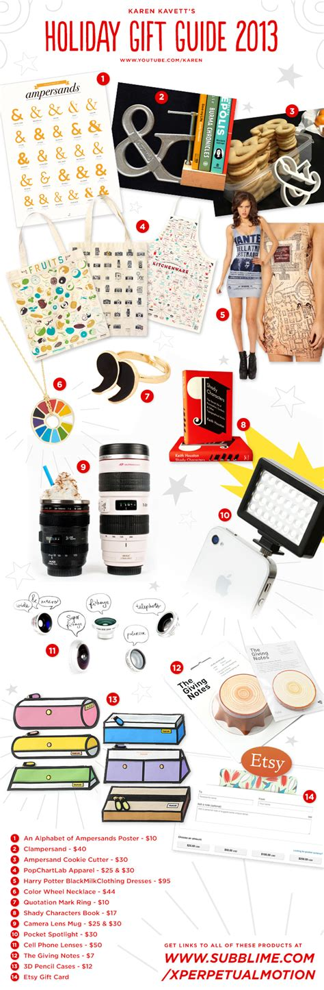 gifts for graphic designers gift guide for graphic designers 2013 kavett