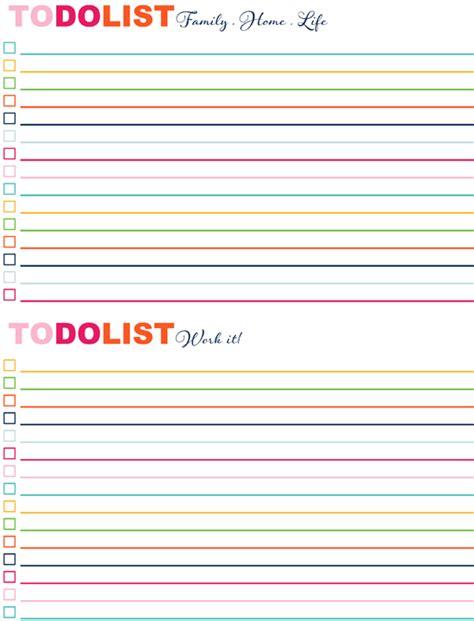 todo checklist iheart organizing free printables