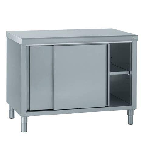 meuble cuisine inox professionnel tournus equipement nos meubles neutres en inox