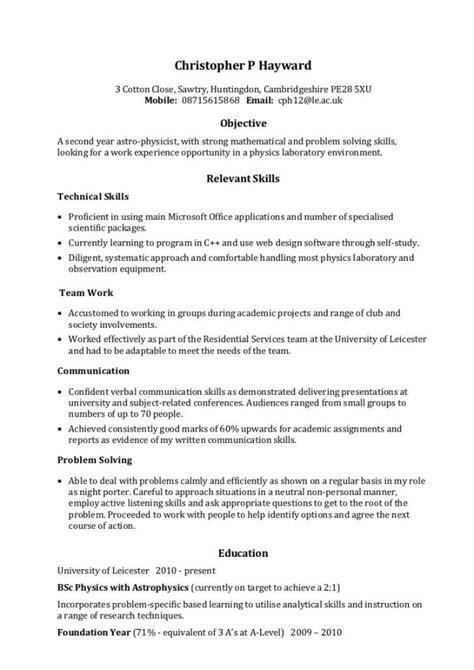 strong communication skills resume exles resume ideas