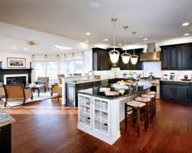 open kitchen living room design ideas curved granite on island spaces open concept kitchen living room design pictures remodel