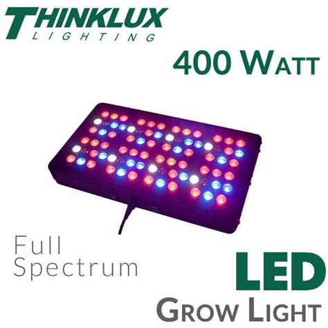 Thinklux Apollo 8 Led Grow Light 400 Watts Earthled Com