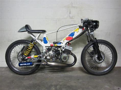 motor bicycle racing tomahawk mopeds