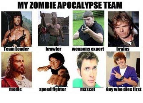Zombie Apocalypse Team Meme - pinterest the world s catalog of ideas
