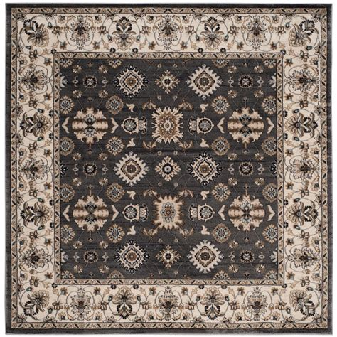 7 square area rug safavieh lyndhurst gray 7 ft x 7 ft square area