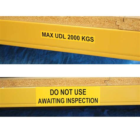 s a beam shelf level warehouse labels signs labels