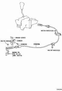 Lexus Gx 460 Cable Assembly  Transmission Control  Shift