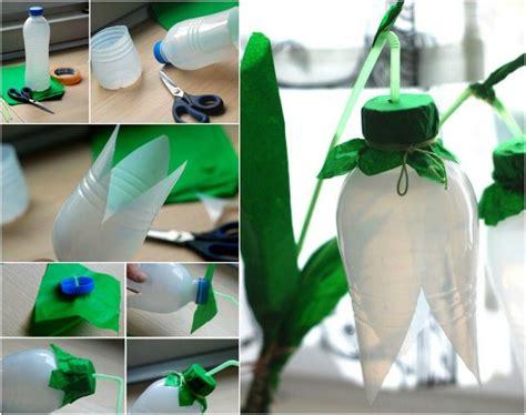 bastelideen mit plastikflaschen schneegl 246 ckchen basteln upcycling plastikflaschen deko kindergarten