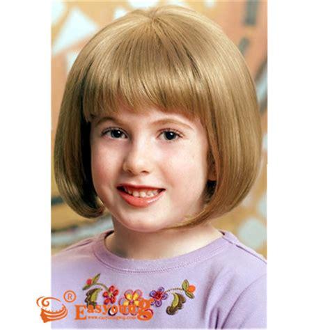 kids bob wig short hair wigs  child ysc child
