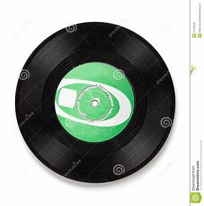 Old Vinyl Record - Clipping Path Stock Photos - Image ...