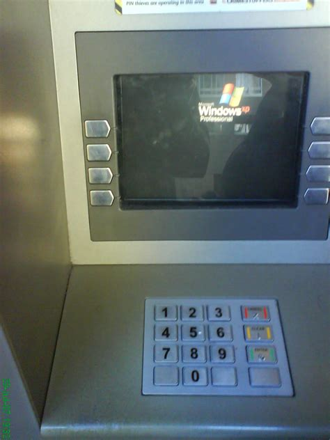 atms running windows xp pose  security risk