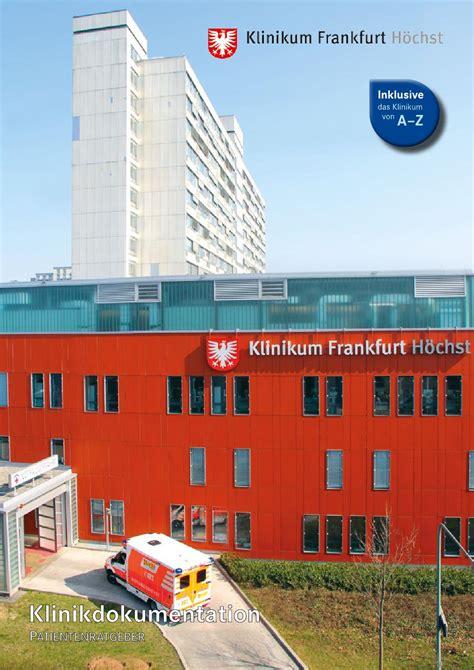 Patientenratgeber Klinikum Frankfurt Höchst By Klinikum