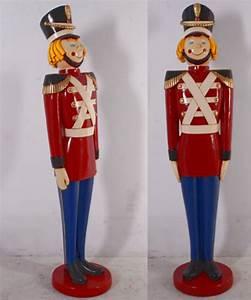 Casse Noisette Deco Noel : soldat souriant statues no l ~ Premium-room.com Idées de Décoration