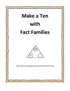 math fact families images fact families math