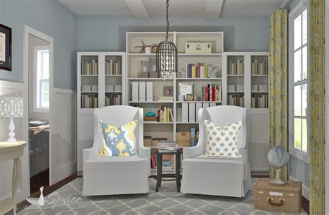 cool small home library ideas