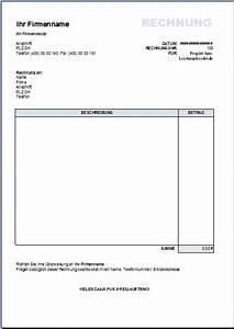 Rechnung Quittung : rechnungsvorlagen und muster zum herunterladen office ~ Themetempest.com Abrechnung