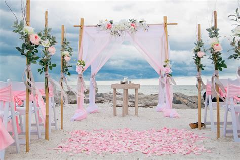 lucky  love tide  knot beach wedding packages