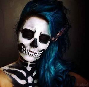 41 Beautiful & Colorful Sugar Skull Halloween Makeup Ideas