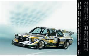 Bmw To Present Bmw Art Cars By Roy Lichtenstein And