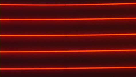 glowing horizontal red neon lights stock footage video
