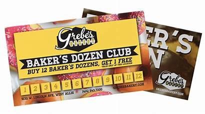 Loyalty Dozen Program Bakers Baker Card Club