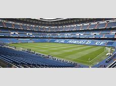 Estadio Santiago Bernabéu Real Madrid CF