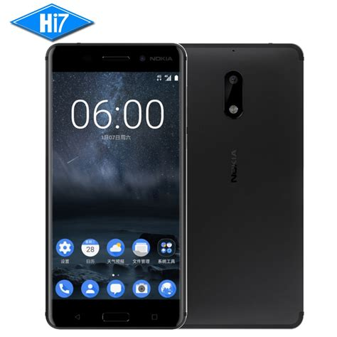 lte in mobile 2017 new original nokia 6 mobile phone 4g lte dual sim