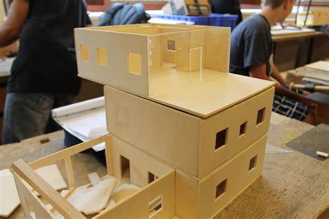 Modellhäuser Selber Bauen by Projekt Modellhaus Bauen