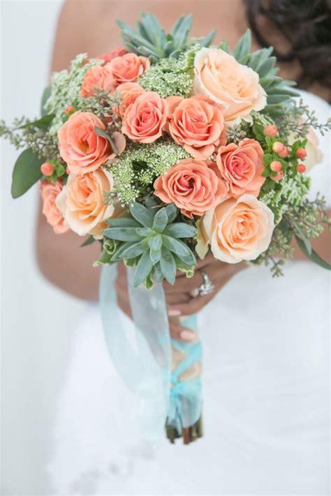 Modern Peach And Mint Wedding Inspiration I Do Wedding