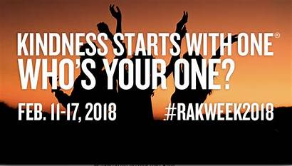 Kindness Acts Random Week Starts Celebrating Join