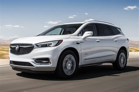 2018 Buick Enclave Avenir First Test Luxury All Around