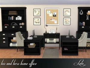 His And Hers Home Office By Lulu265 At Tsr  U00bb Sims 4 Updates