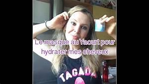 Recette Masque Cheveux Secs : recette du masque au yaourt pour hydrater les cheveux secs youtube ~ Nature-et-papiers.com Idées de Décoration