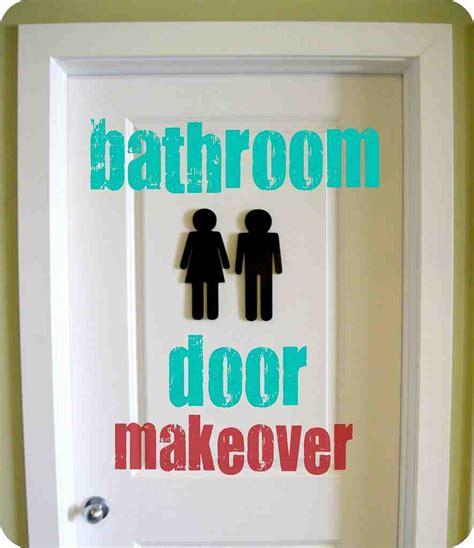 decorative bathroom door signs decor ideasdecor ideas