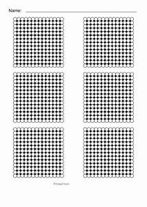 20 by 20 multiplication chart perler bead templates small hexagon sheet printable pdf