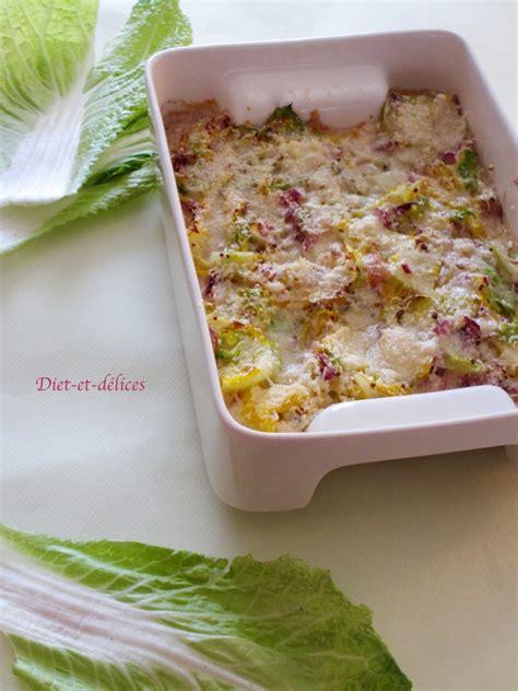 chou cuisine recette gratin de chou chinois
