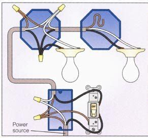 Electrical Single Switch With Lights Not Series