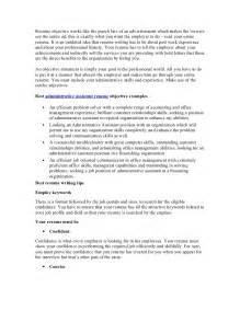 best resume objective statements for administrative assistant best administrative assistant resume objective article1