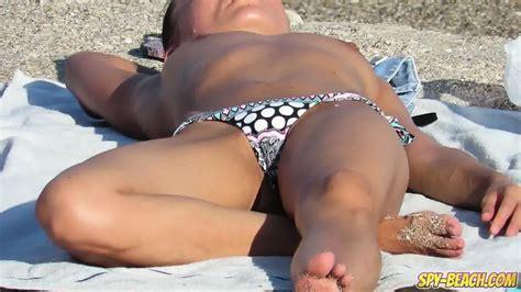 Amateur Voyeur Sexy Milfs Spy Beach Big Boobs Topless