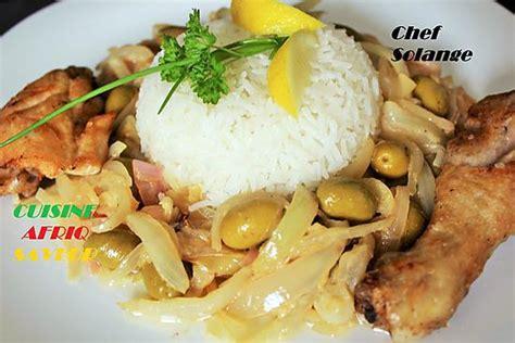 recette de poulet yassa cuisine africaine