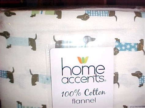 dachshund dogs  sweaters flannel queen size sheet set
